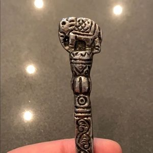 Accessories - Elephant Hairpin from India